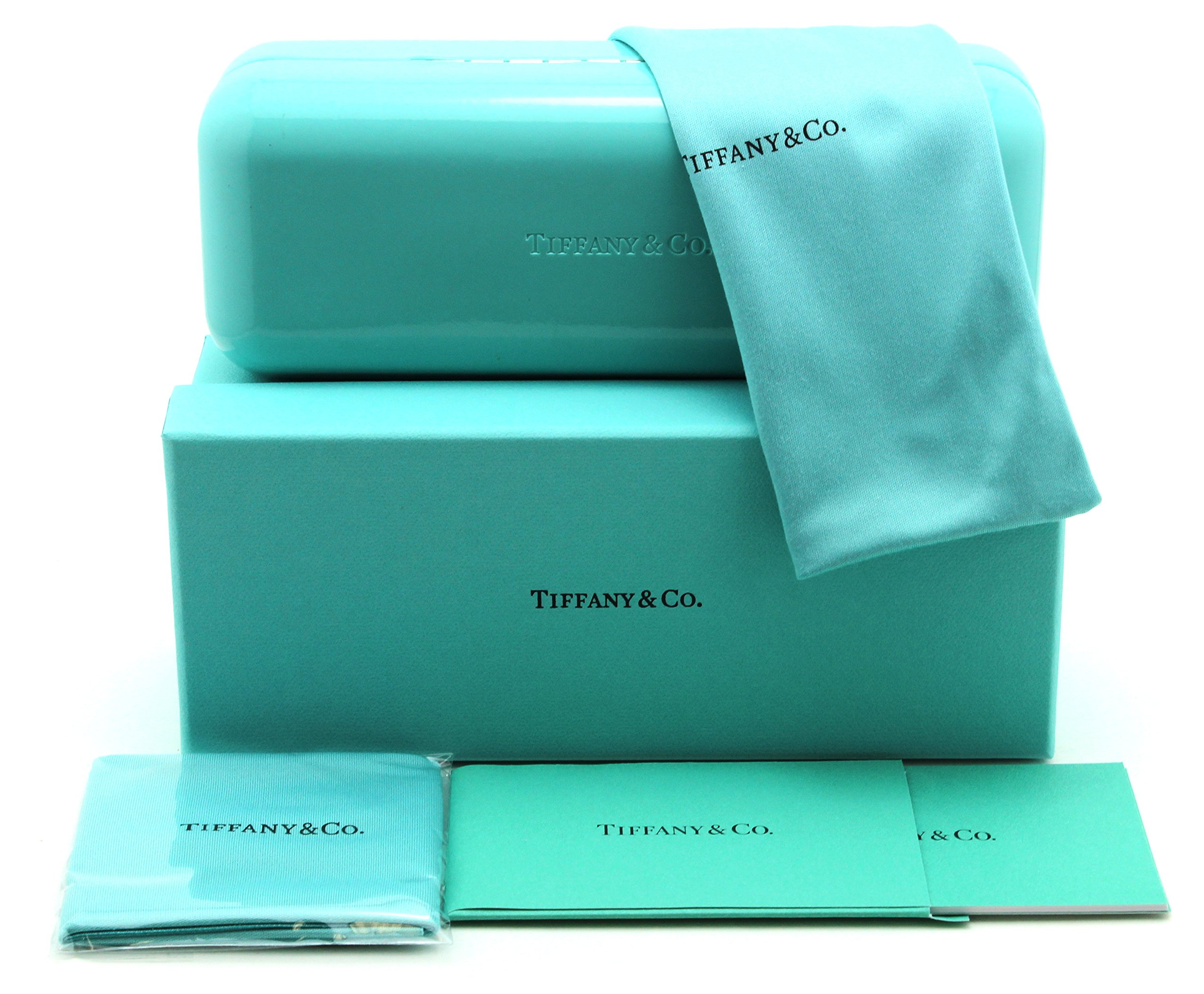 Tiffany & Co. TF 4135-B-F Women Square Asian Fit Sunglasses (Blue Gradient 80559S, 56) by Tiffany & Co. (Image #3)