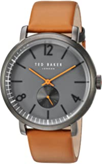 d3fab4358e294 Amazon.com  Ted Baker Men s 10024530 Black Stainless Steel Watch ...