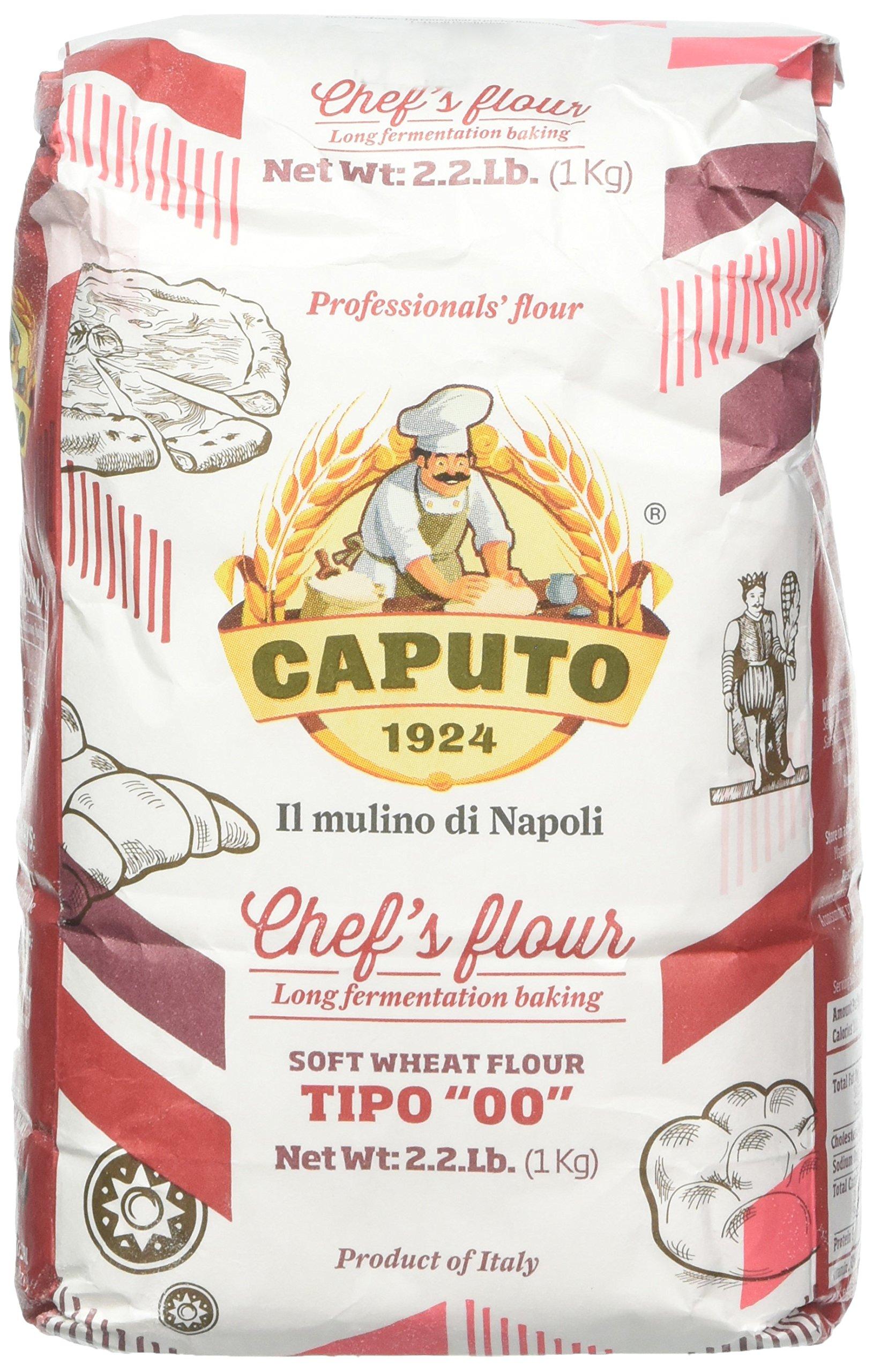 Antimo Caputo ''00'' Chef's Flour 2.2 Pound Bag Pack of 2