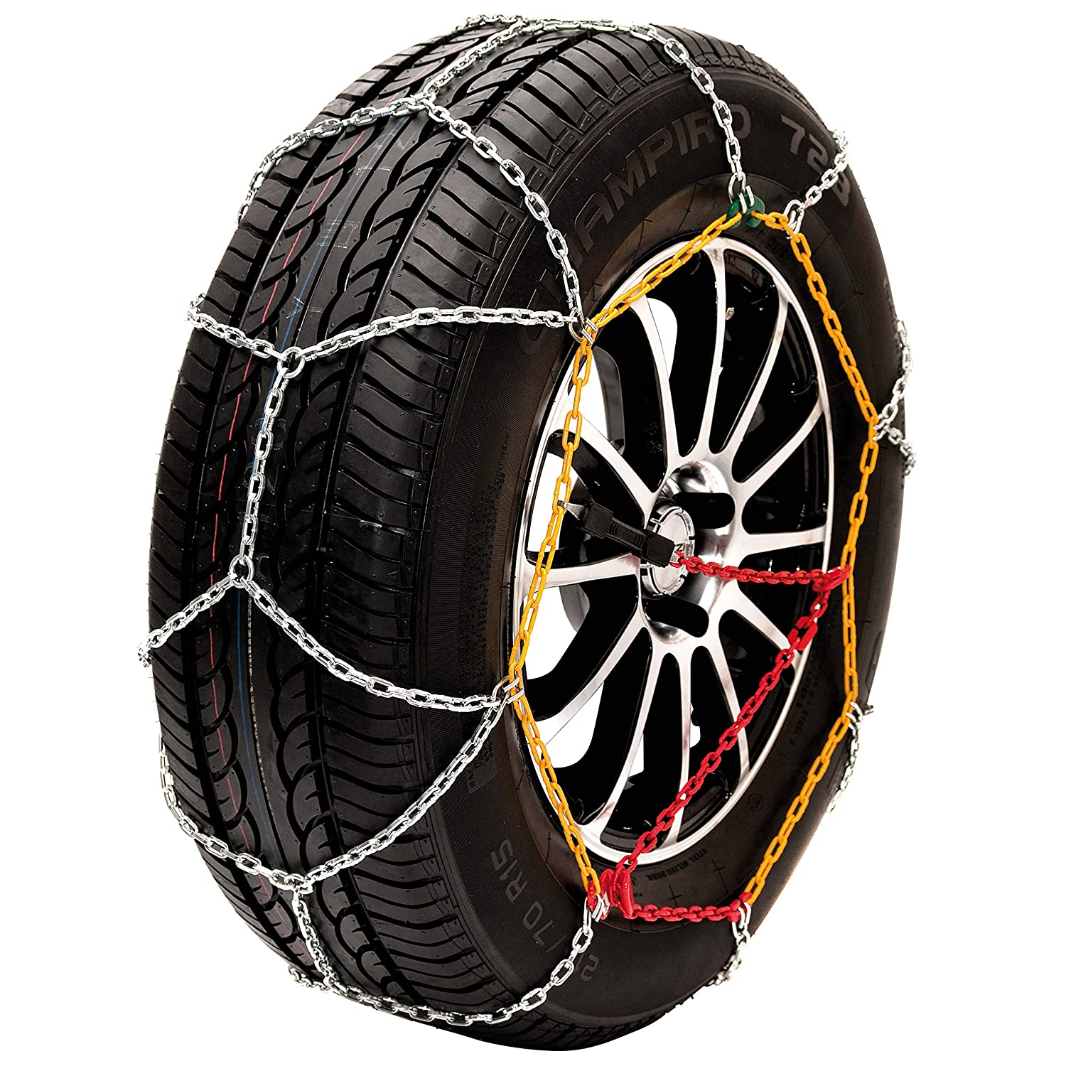 Husky Sumex Winter Classic Alloy Steel Snow Chains for 15' Car Wheel Tyres (185/60 R15)