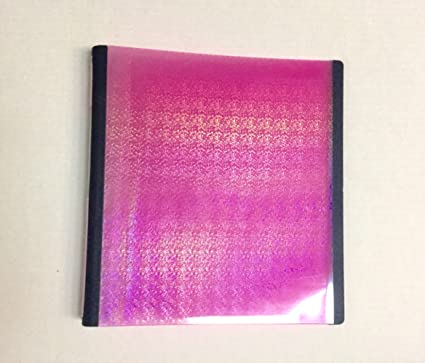 amazon com staples glitter better binder 1 inch pink office