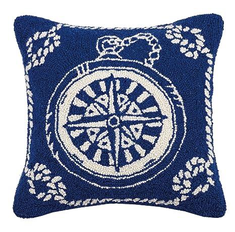Amazon.com: Pekín artesanía brújula náutico gancho almohada ...