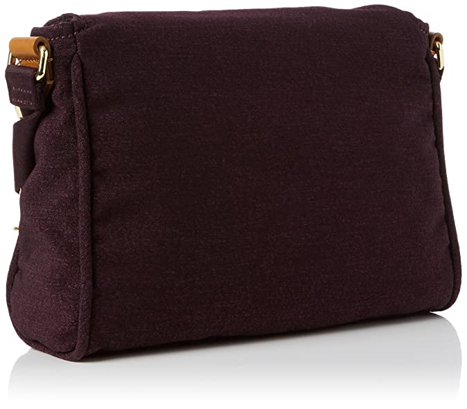 Ready Now, Womens Cross-Body Bag, Mehrfarbig (Aubergenious), 27.5x21x0.1 cm (B x H T) Kipling