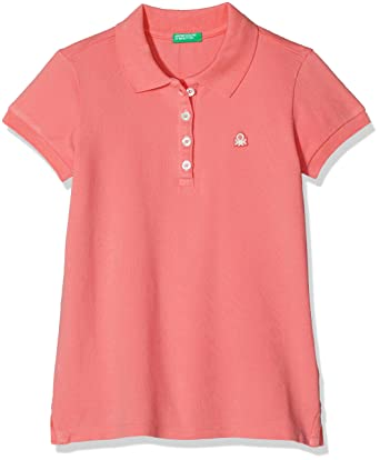 United Colors of Benetton H/S Polo Shirt, Niñas: Amazon.es: Ropa y ...