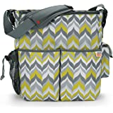 Skip Hop Jonathan Adler Duo  Diaper Bags, Flame Yellow (Discontinued by Manufacturer)