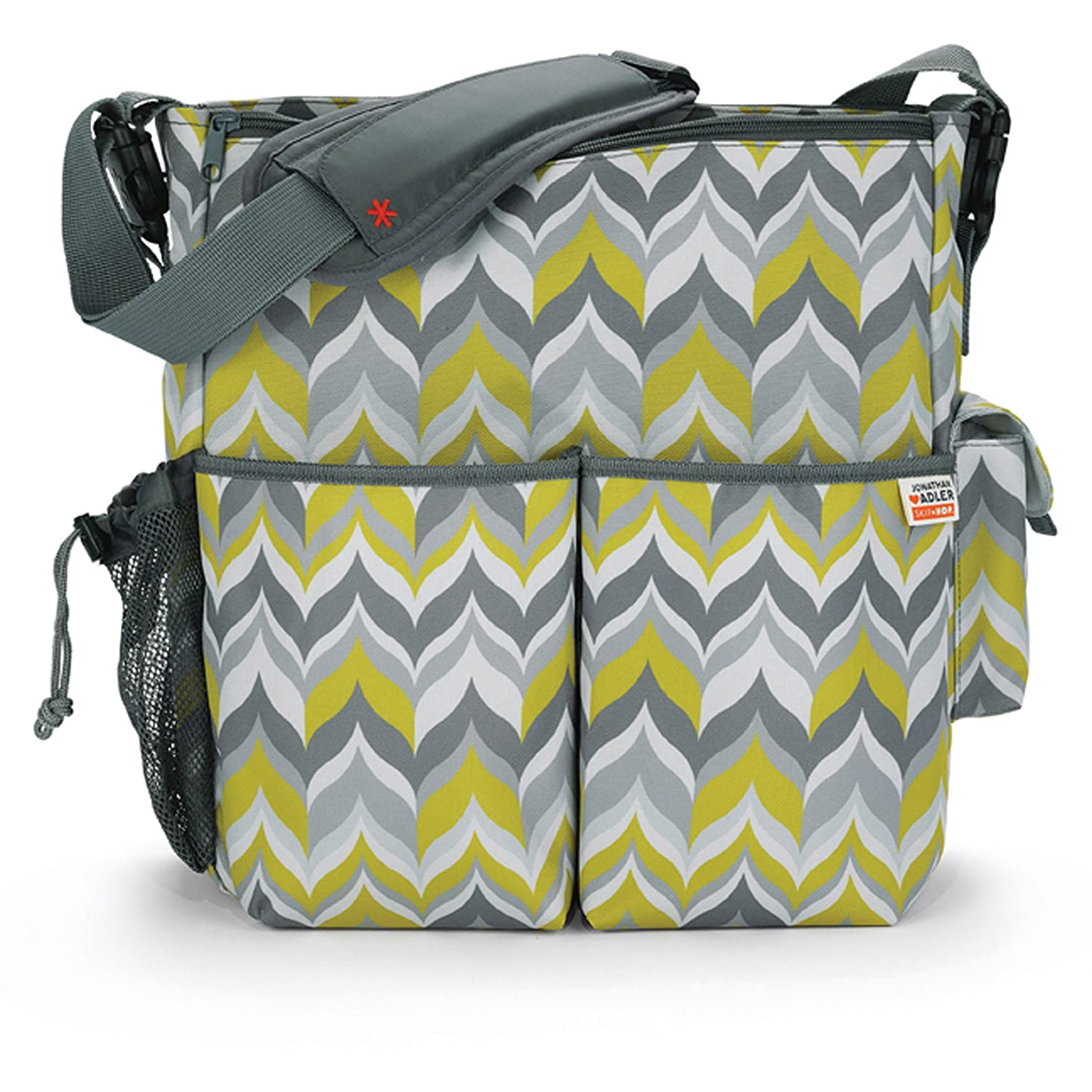 Skip Hop Jonathan Adler DuoDiaper Bags, Flame Yellow (Discontinued by Manufacturer)