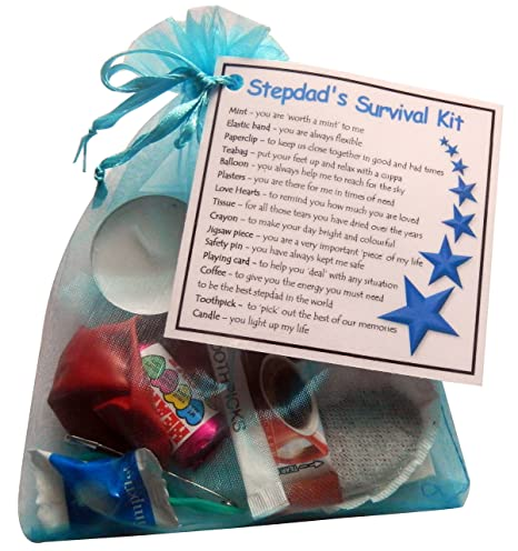 SMILE GIFTS UK Stepdads Survival Kit Gift Great Novelty For Birthday Or Christmas