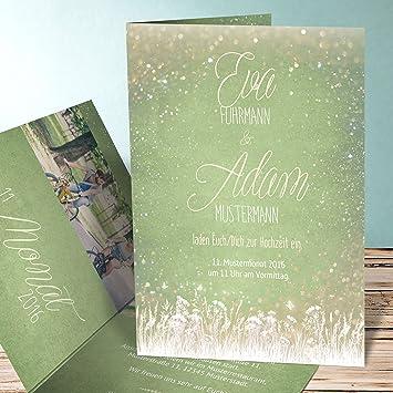 Hochzeitseinladungen Selbst Gestalten Zauberlicht 25 Karten