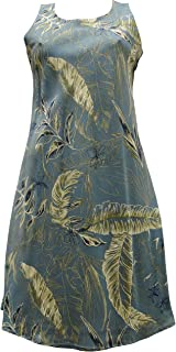 product image for Paradise Found Womens Heliconia Sketch Short Tank Dress