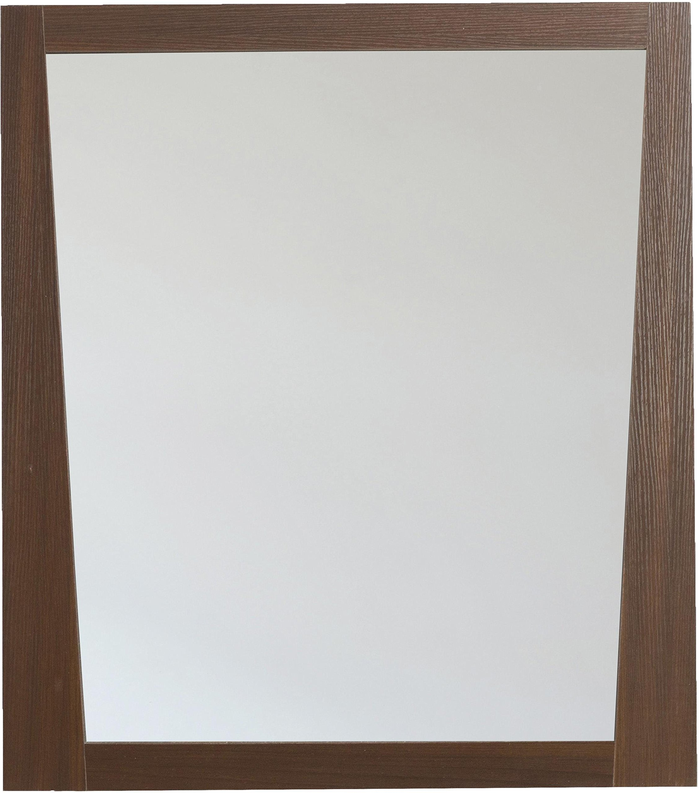 American Imaginations AI-5-1184 Modern Plywood-Melamine Wood Mirror, 28-Inch x 34-Inch, Wenge Finish
