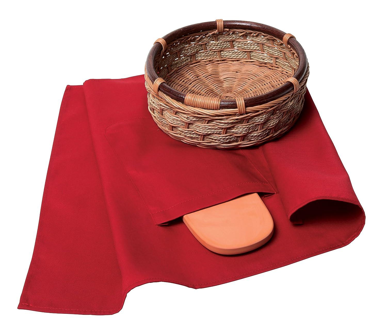 Mexican Origins Keilen 120-24 Tortilla and Bread Warmer Basket, Multicolor