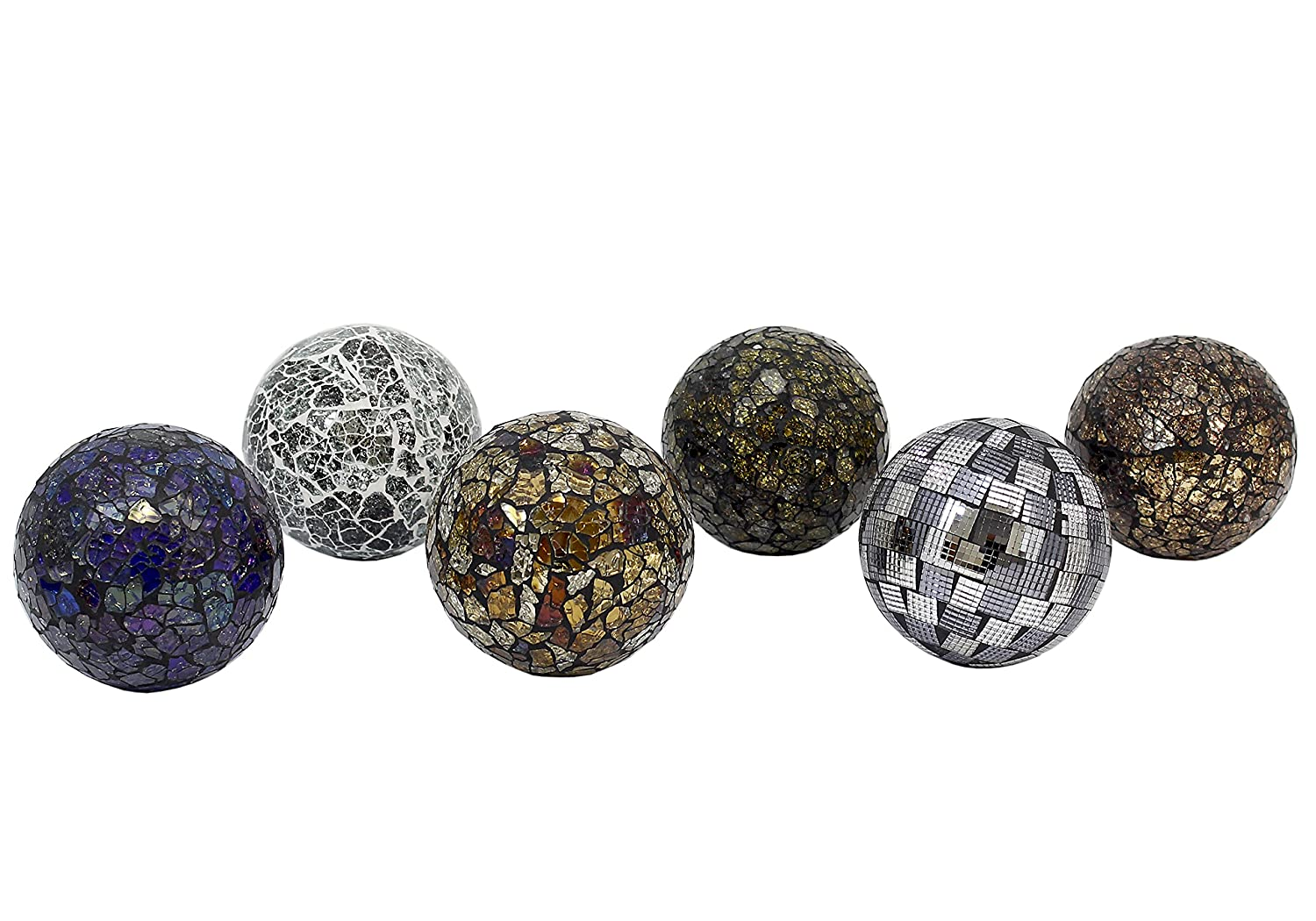 silver red and spot fabulous balls spots be decorative with ball decor black glass mosaic