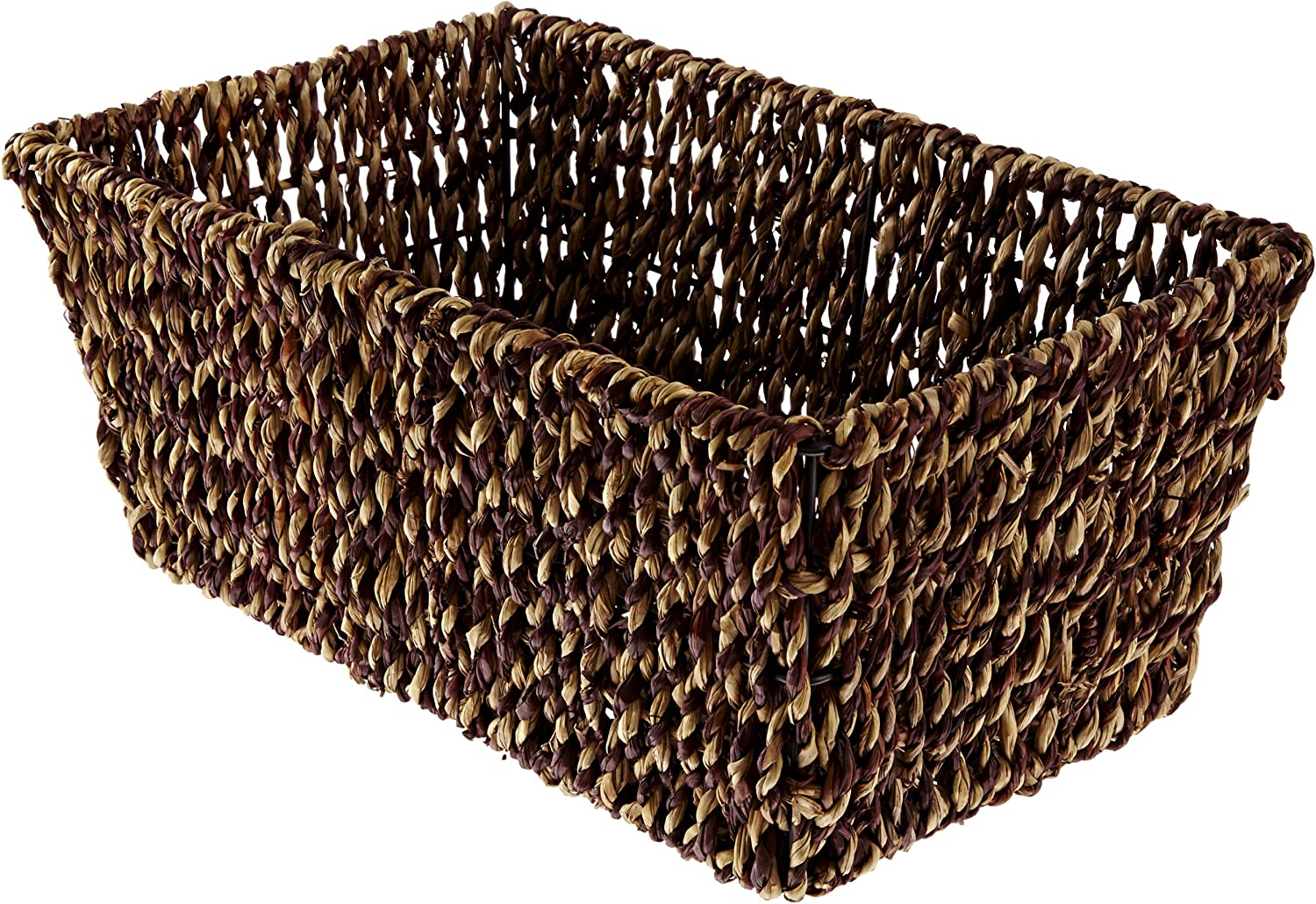 Hoffmaster BSK2151A Seagrass Basket, fits folded guest towels 4-1/2 inches by 8-1/2 inches, actual basket size 10 inches long by 6-1/8 inches wide by 4-3/8 inches tall