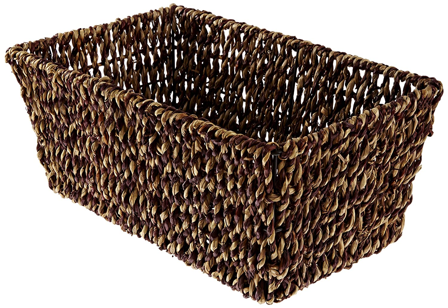 Hoffmaster BSK2151A Seagrass Basket, fits folded guest towels 4-1/2 inches by 8-1/2 inches, actual basket size 10 inches long by 6-1/8 inches wide by 4-3/8 inches tall Hoffmaster Group Inc.