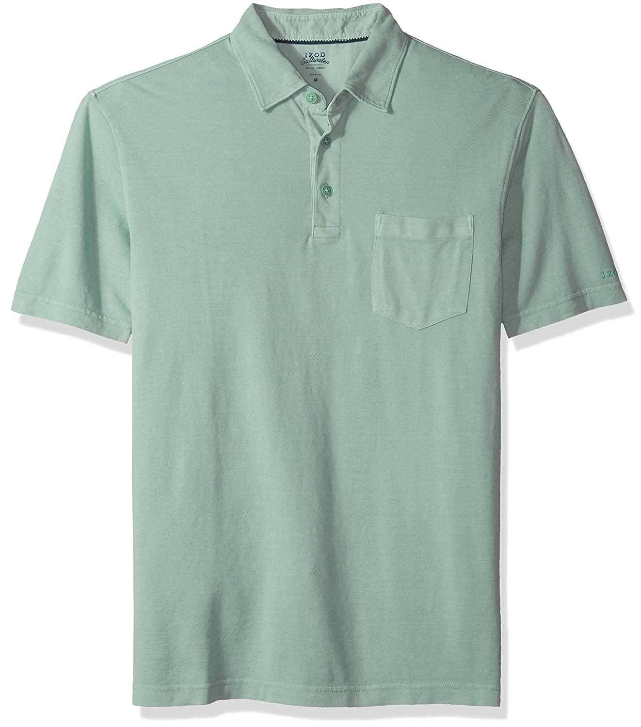 Izod Mens Saltwater Pigment Polo At Amazon Mens Clothing Store