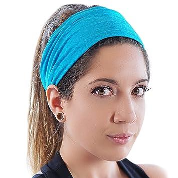 New Mens Headband and Sweatband. Stretch Moisture Wicking 8c3eb8bd629