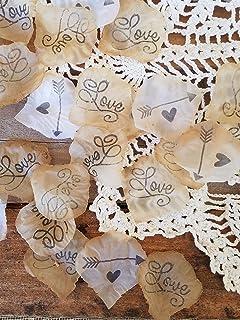 Amazon Com 50 Off Fall Sale 5 Shabby Chic Wedding Flowers Rustic
