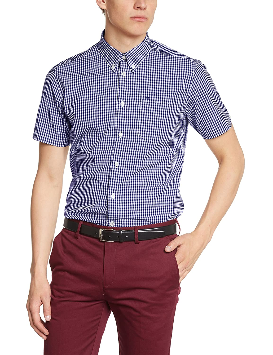 TALLA M. Merc of London Camisa para Hombre