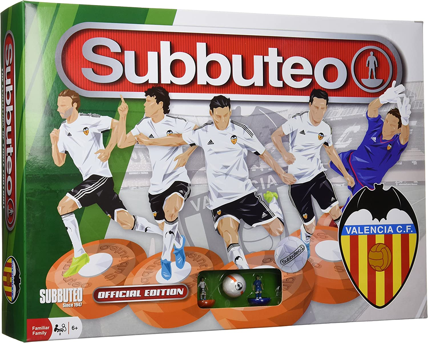 Subbuteo - Playset Valencia CF (Eleven Force 81229): Amazon.es ...