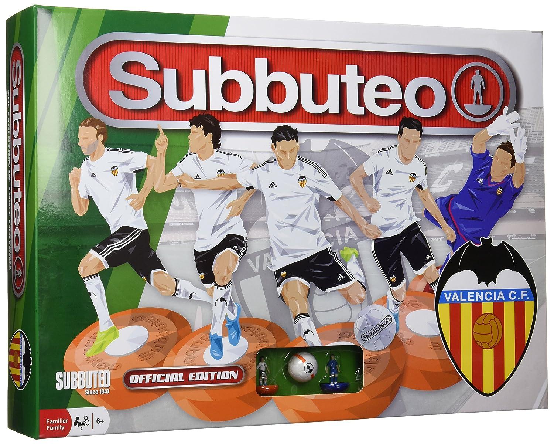 Subbuteo - Playset Valencia CF (Eleven Force 81229): Amazon.es ...