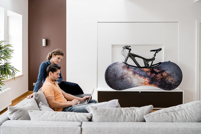 Die VELOSOCK Indoor Fahrradschutzhülle Fahrradabdeckung zur Lagerung Stardust