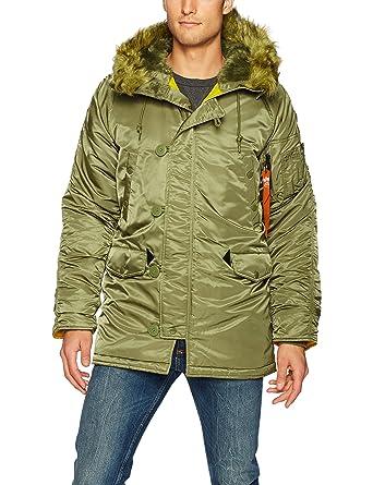 buy popular 0758b ef399 Alpha Industries Men's Slim Fit N-3B: Amazon.ca: Clothing ...
