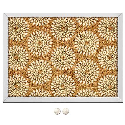 amazon com catalina printed cork board home improvement