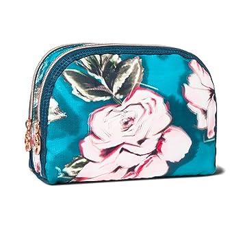 Amazon Com Sonia Kashuk Rounded Double Zip Clutch Makeup Bag