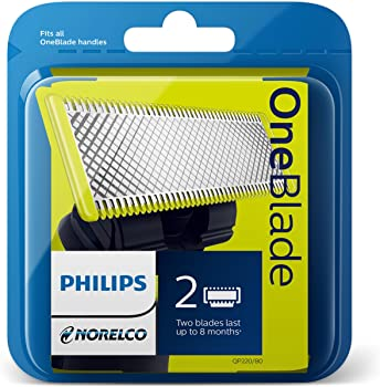 2-Count Philips Norelco OneBlade Replacement Blade