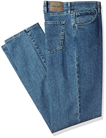 656be780 Amazon.com: Wrangler Authentics Men's Big and Tall Big & Tall Classic  Comfort-Waist Jean: Clothing