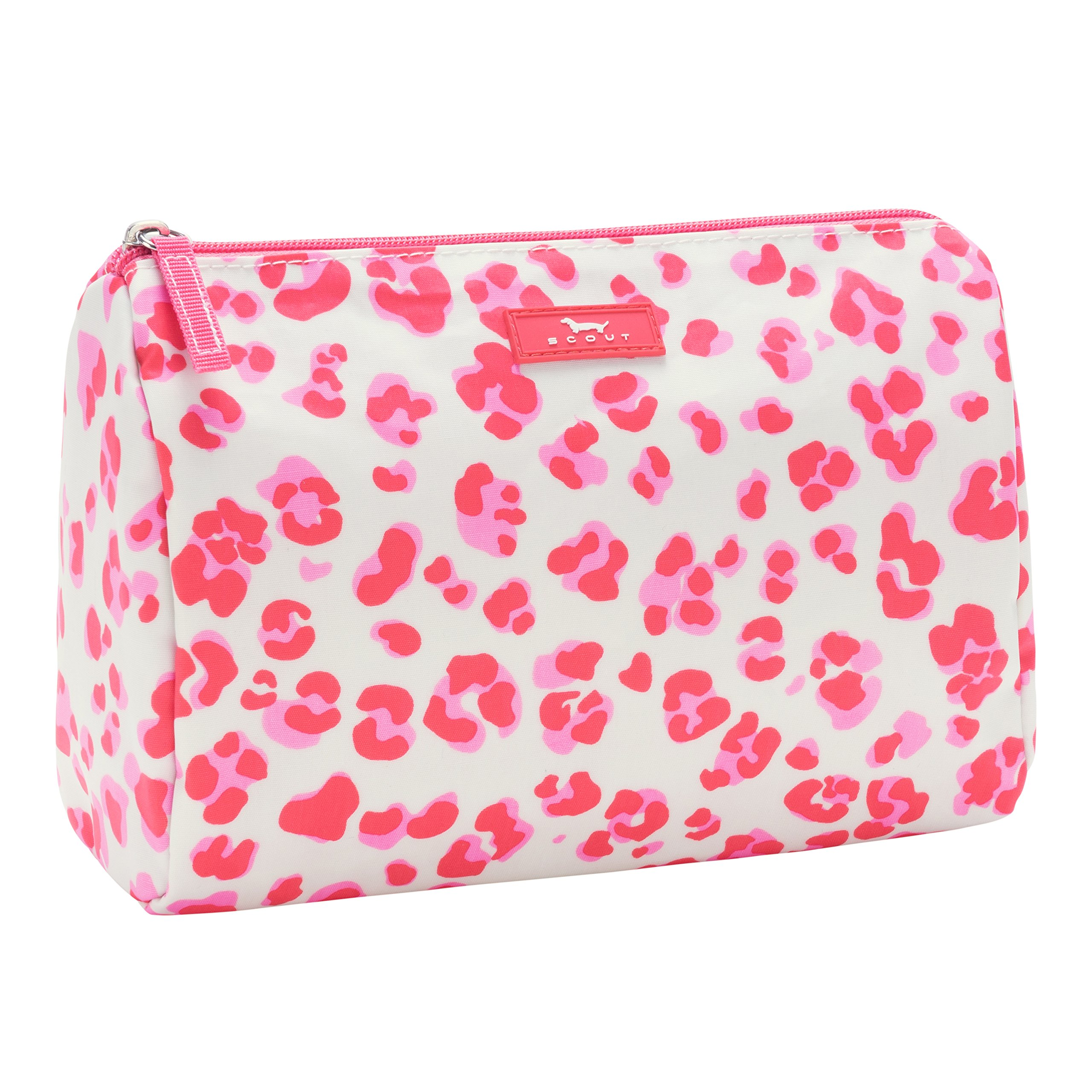 SCOUT Packin' Heat Makeup & Cosmetic, Accessory or Toiletry Bag, Interior Pocket, Water Resistant, Zips Closed, Too Pawsh