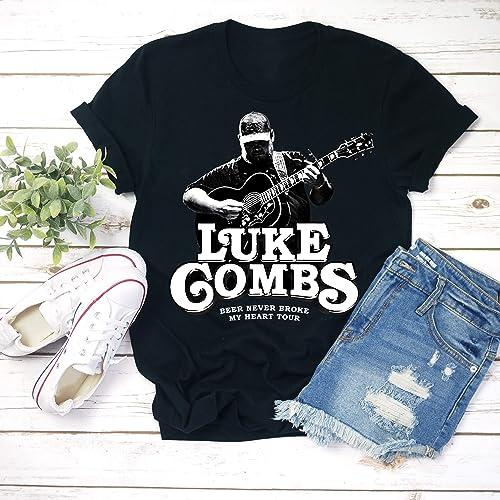 7394d50a6a8a Amazon.com: Luke-Combs Tour Shirt, Luke-Combs Gift, Country Music ...