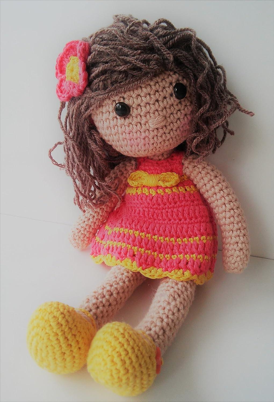 Muñeca crochet PERSONALIZADA Mariquilla. ENVÍO GRATIS ...