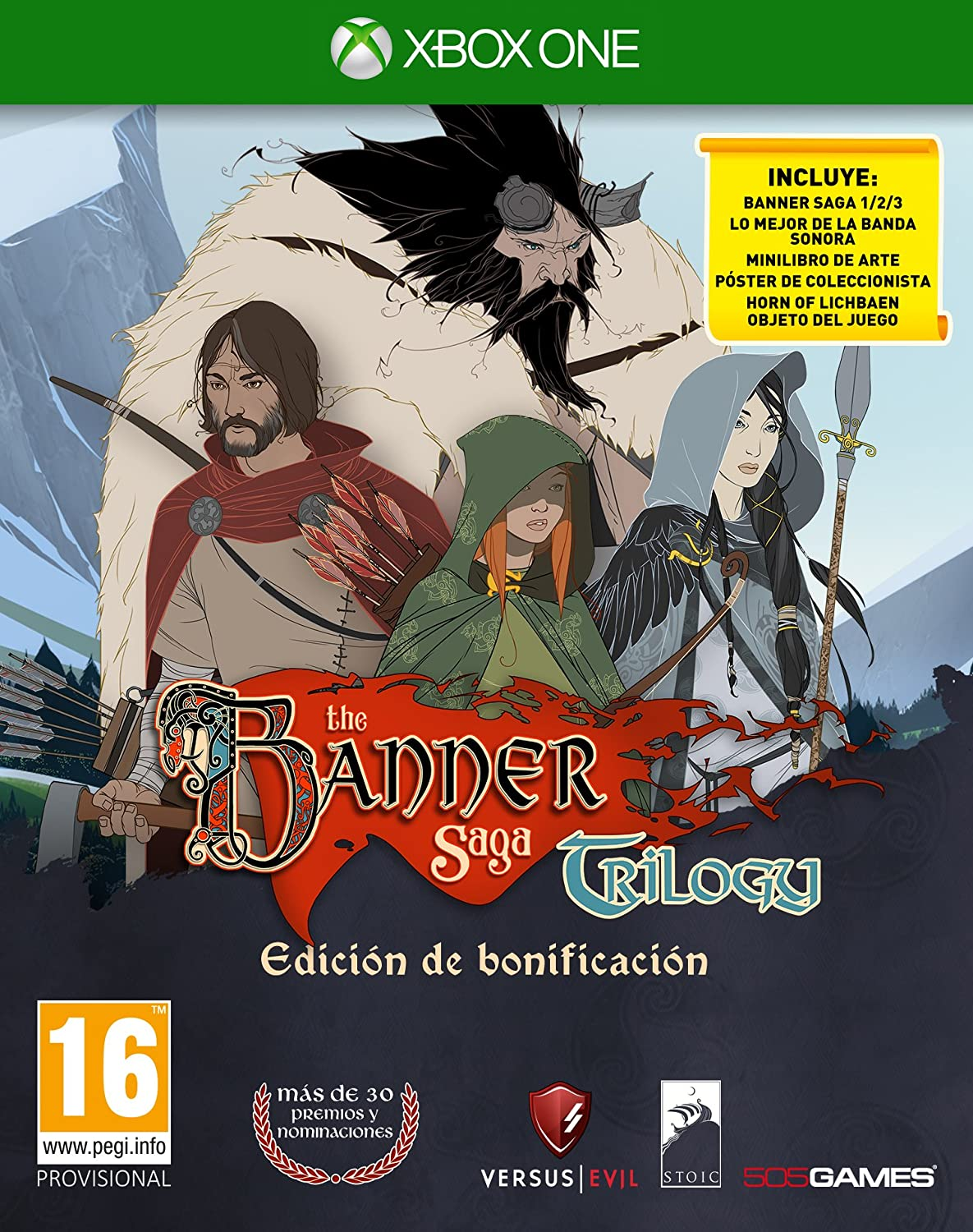 The Banner Saga Collection: Xbox One: Amazon.es: Videojuegos
