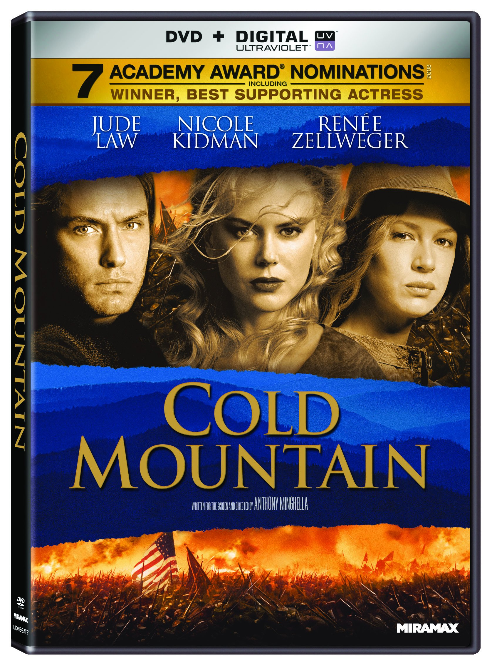 DVD : Cold Mountain (Widescreen, Dolby, AC-3, Digital Theater System)