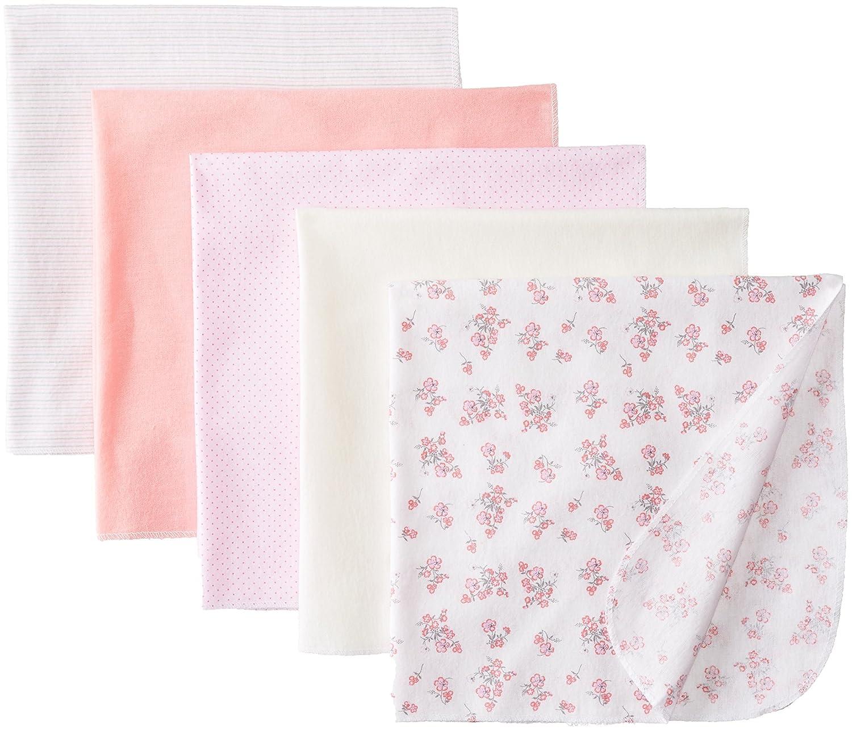 Amazon.com: Baby-Girls recién nacido floral Paquete de 5 Recibir Set ...