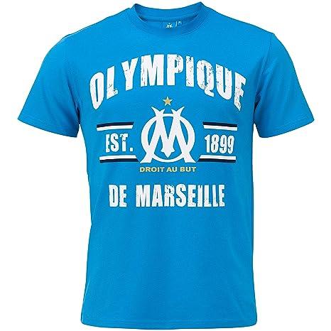OLYMPIQUE DE MARSEILLE Veste Om Collection Officielle Taille Enfant gar/çon