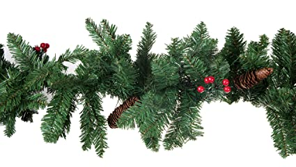 Amazon.com: Christmas Tree Branch Garland by Clever Creations ...