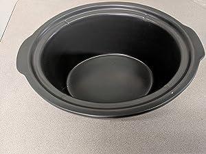 Compatible with Kenmore 5 QT (Model # 88918) Slow Cooker Porcelain Liner (1, 5 QT)