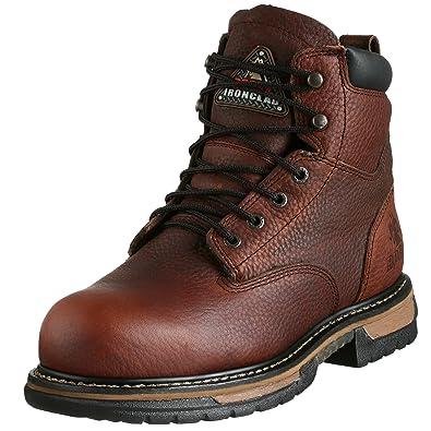 Amazon.com | Rocky Men's Iron Clad Six Inch Steel Toe Work Boot ...