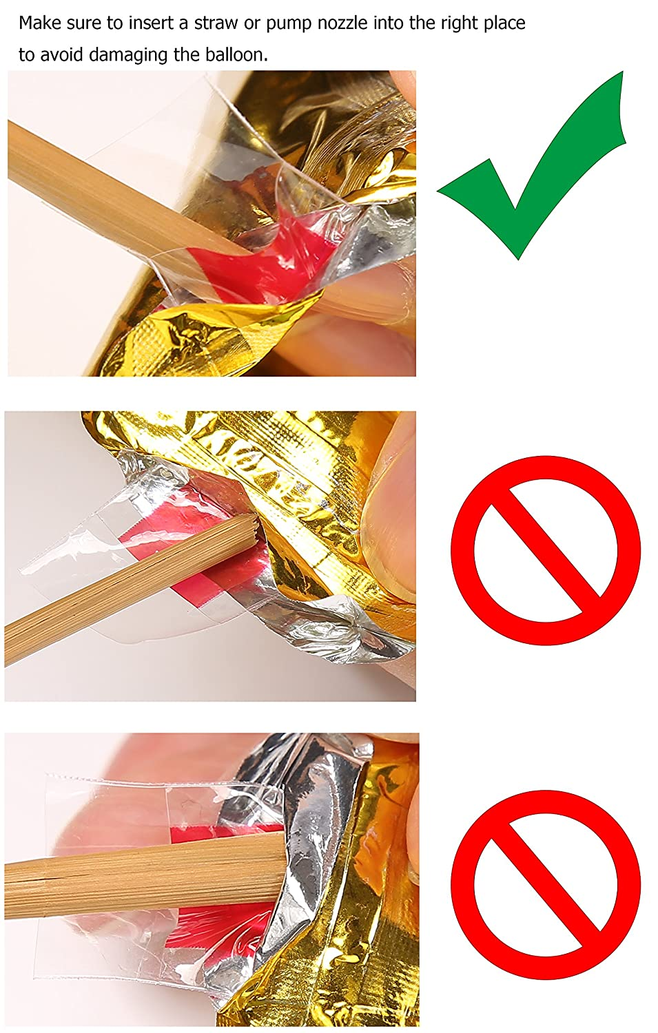 Amazon Moon Boat 40 Gold Mylar 0 9 Number Balloons For Birthday Anniversary Party Supplies Decorations No7 Toys Games