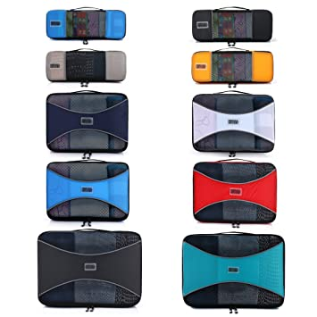 4e1d8dcea544 PRO Packing Cubes for Travel - Luggage Organizer Bags, Accessories -  Ultralight