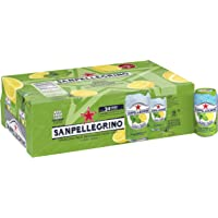 24-Pack San Pellegrino Sparkling Fruit Beverage, Lemon & Mint, 11.15 Fluid Ounce