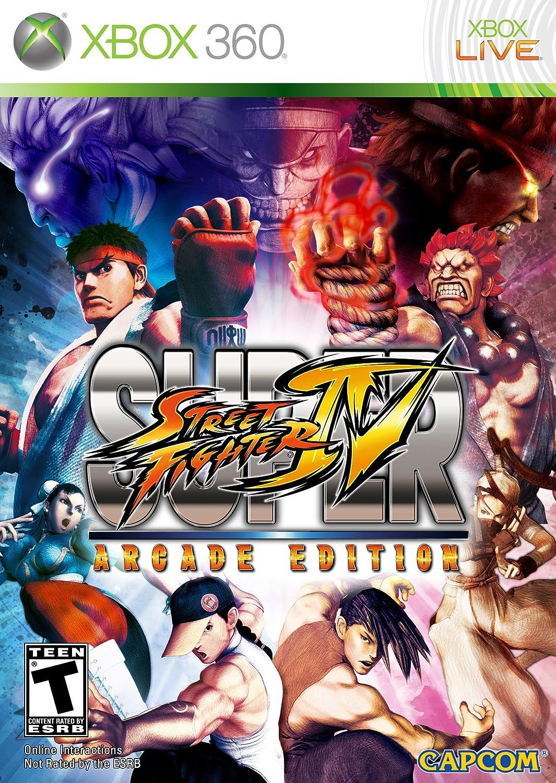 Amazon Com Super Street Fighter Iv Arcade Edition Xbox