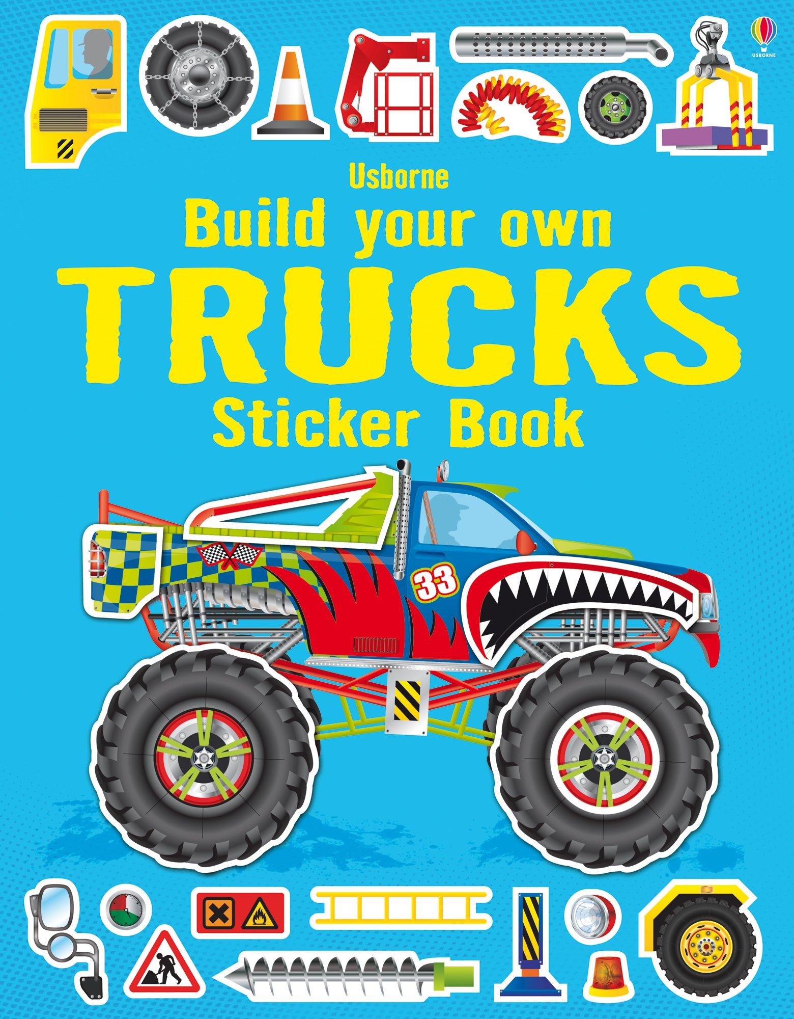 Build Your Own Trucks Sticker Book Simon Tudhope