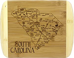 Totally Bamboo A Slice of Life South Carolina Bamboo Serving and Cutting Board