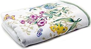 Lenox Butterfly Meadow, Bath Towel, Blue Flower