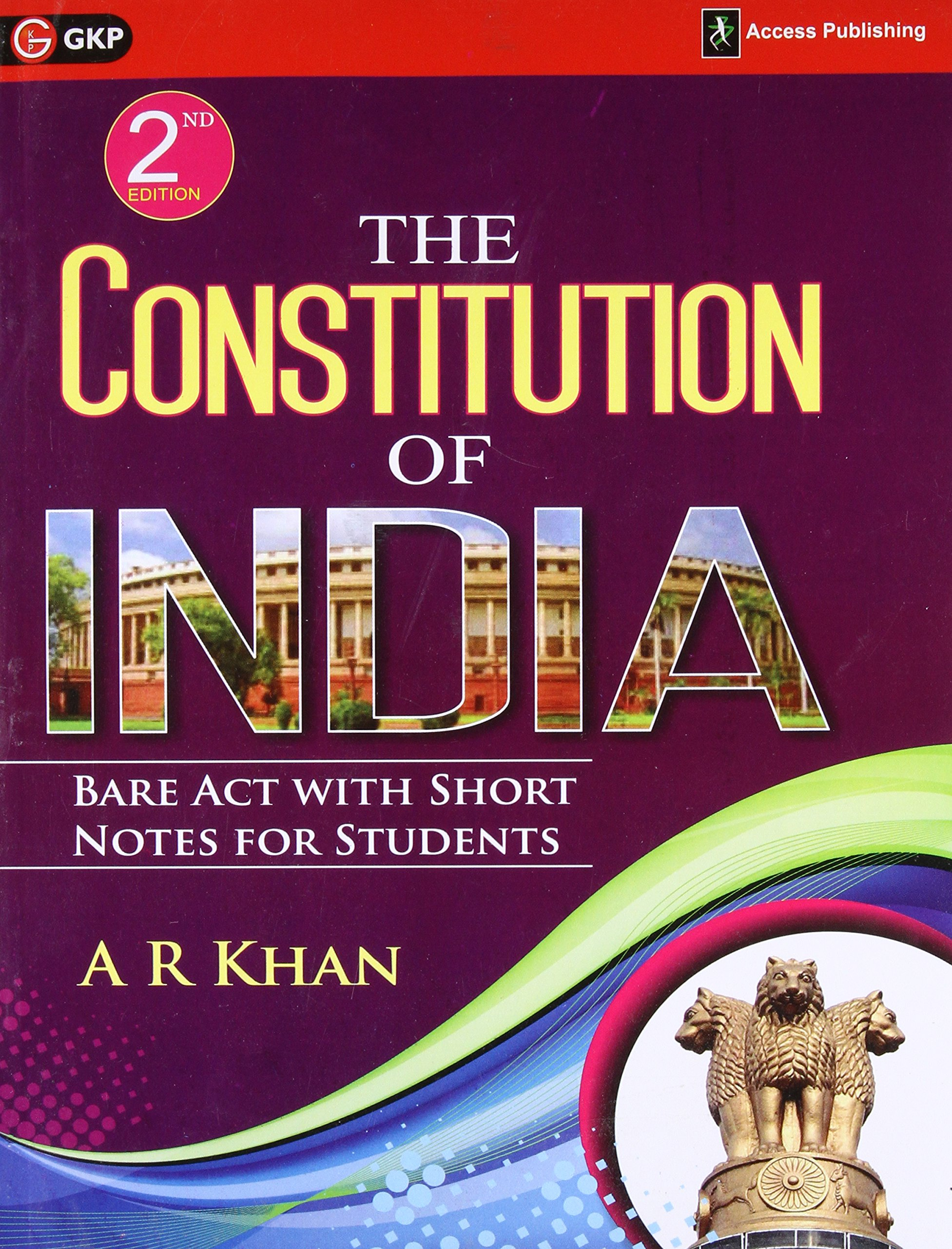 Read Online The Constitution Of India: Bare Act With Short Notes For Students ebook