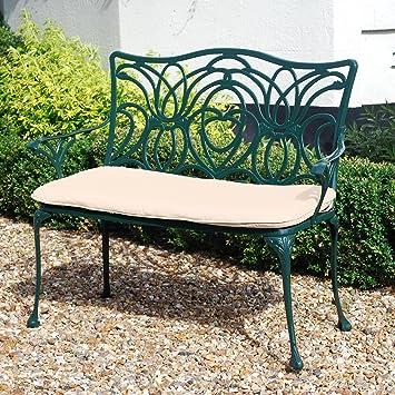 Sitzbank Für Den Garten amazon de leisuregrow norfolk grün 2 sitzer garten bank gartenbank