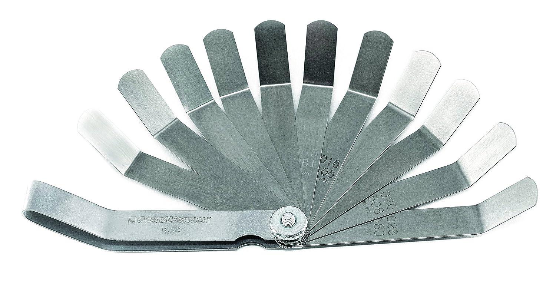 GearWrench 163D 11 Blade SAE/Metric Valve-Tappet Feeler Gauge, Black K-D Tools